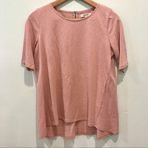 Madewell Tops - Madewell Blush Cotton crewneck tee